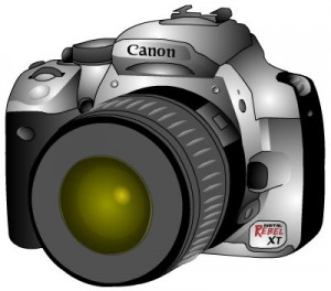 Photography camera clipart black and white free images 3