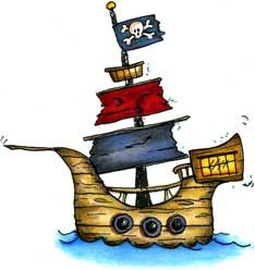 Pirate ship 0 images about clip art my style pirate stuff on