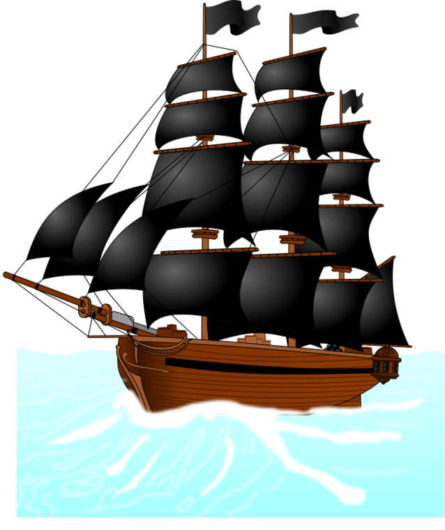 Pirate ship cartoon clipart free to use clip art resource