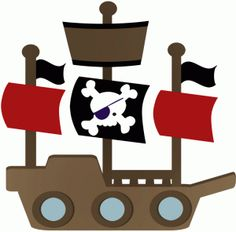 Pirate ship clip art clipart