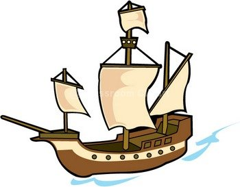 Pirate ship clipart kid 4