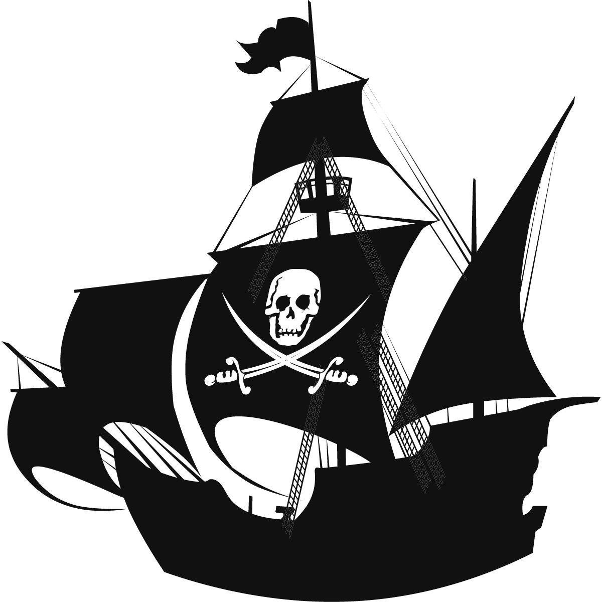 Pirate ship clipart kid 6