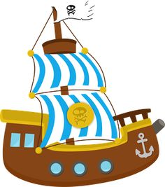 Pirate ship cliparts and others art inspiration