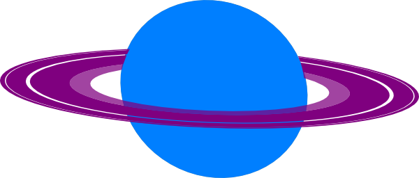 Saturn planet clipart kid 2
