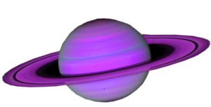 Saturn planet clipart kid 5
