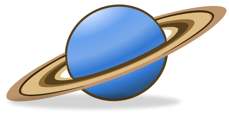 Saturn planet clipart kid 6