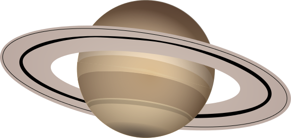 Saturn planet clipart kid 7