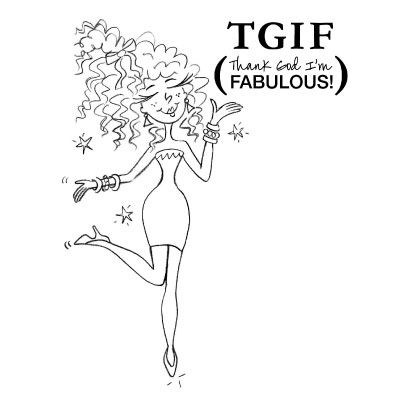 Tgif am fabulous clipart