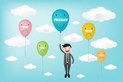 Tgif happy friday cartoon text clipart illustration megapixl