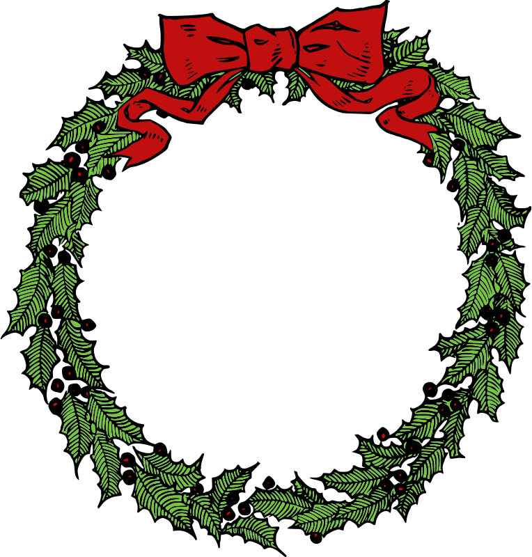 Wreath free to use clip art