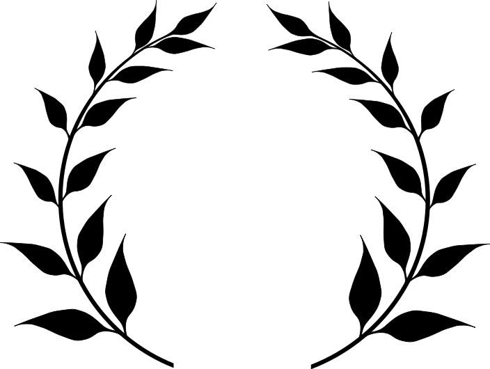 Wreath of laurel clipart