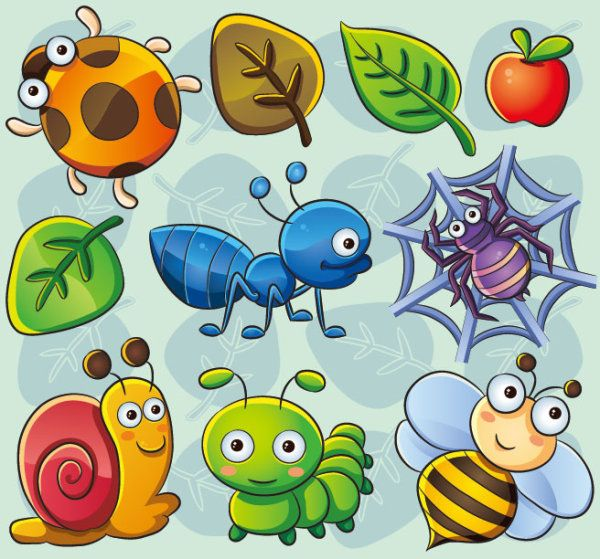 0 images about clip art etc insects on art