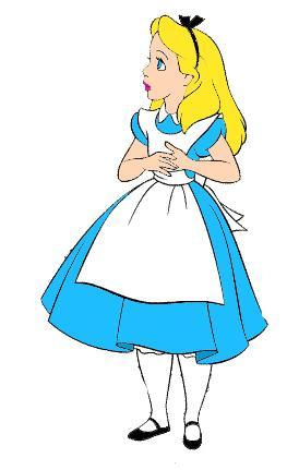 Alice in wonderland clip art clipart 3