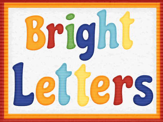 Alphabet letters clipart kid