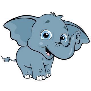 Baby elephant clipart kid 2