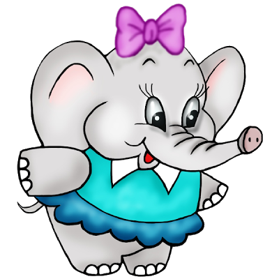 Baby elephant clipart kid clipartix