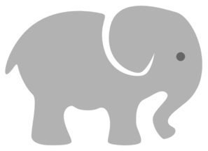 Baby elephant clipart kid