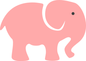 Baby elephant cute elephant photos of baby pink clip art cute