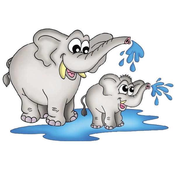 Baby elephant elephant cartoon picture images cliparts