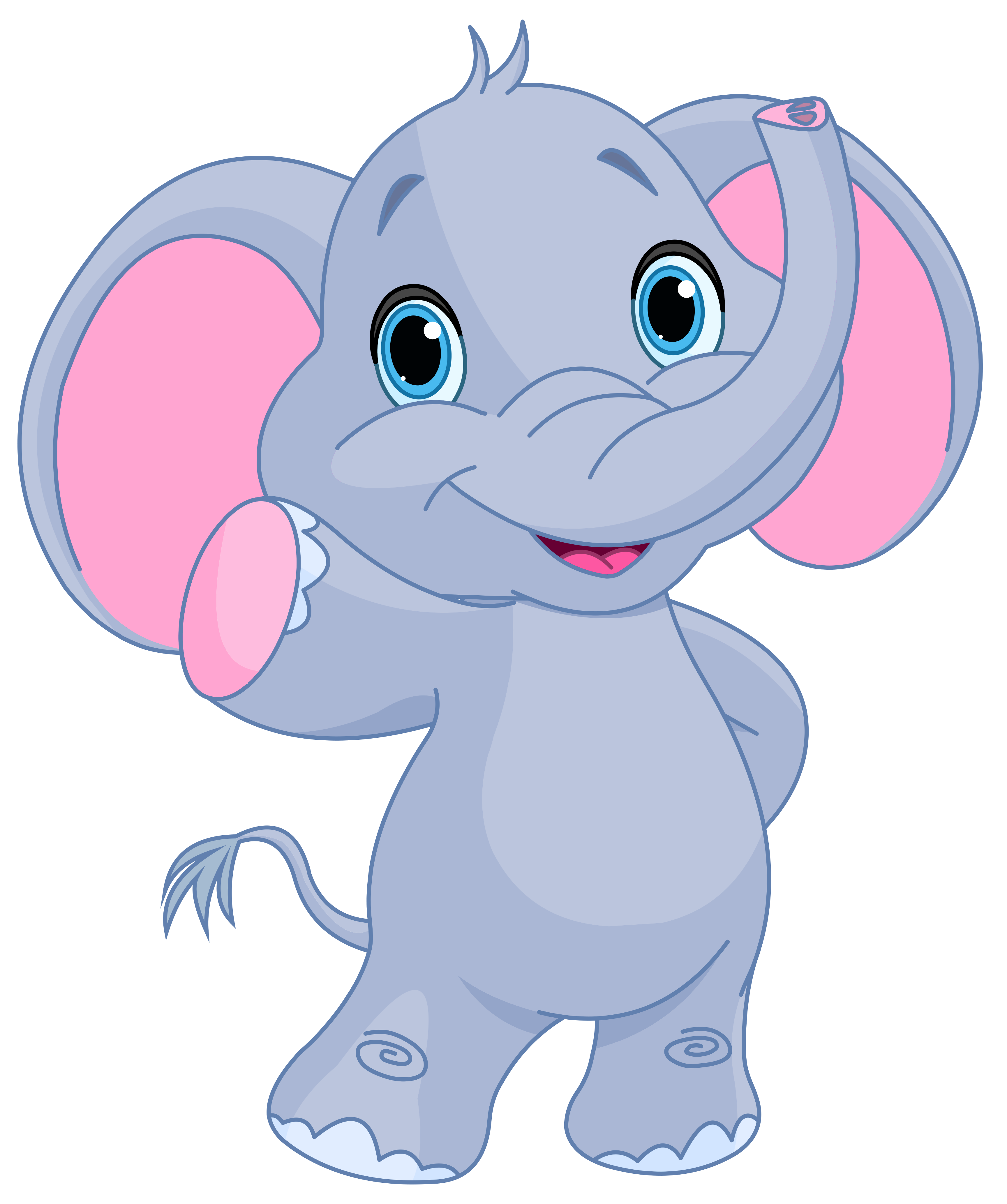 Baby elephant white elephant clip art hostted