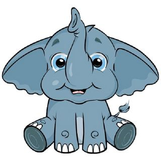 Baby elephants cartoon elephant and clip art on