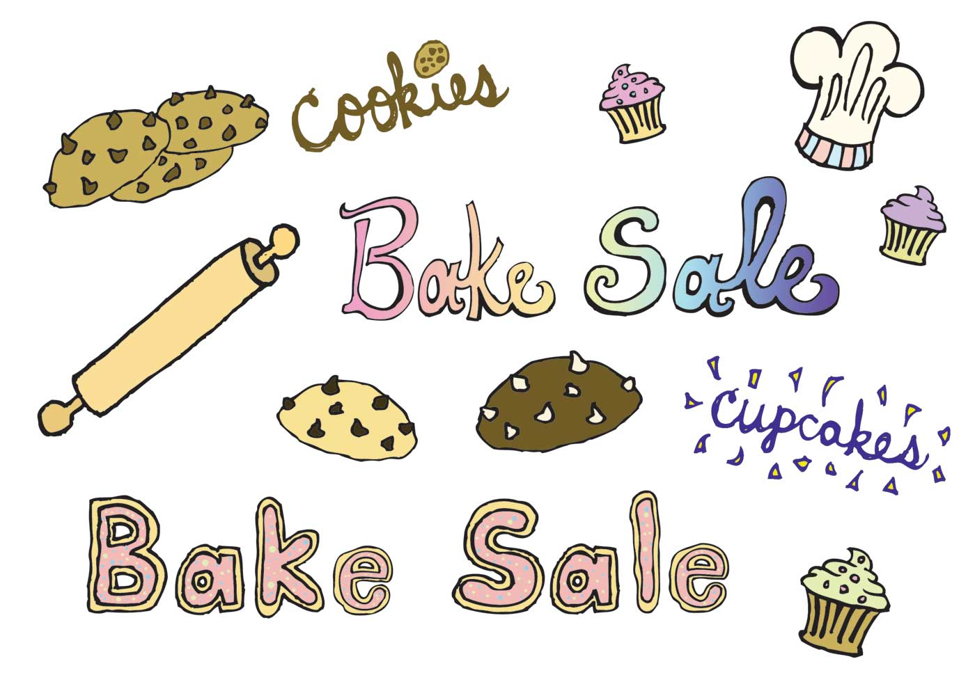 Bake sale bake free vector art 4 downloads clip art