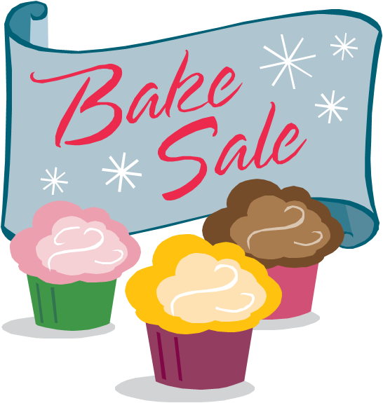 Bake sale clipart kid