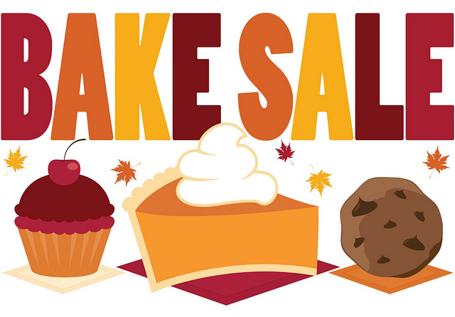 Bake sale sign clipart kid