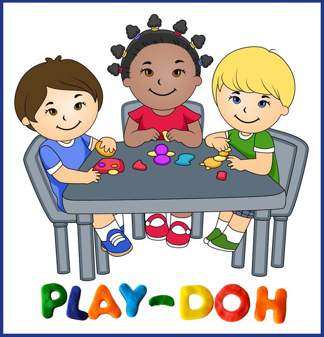 Children playing clip art preschool outside play clipart kid 2