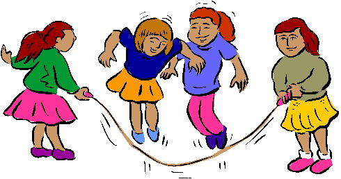 Children playing playing children clip art