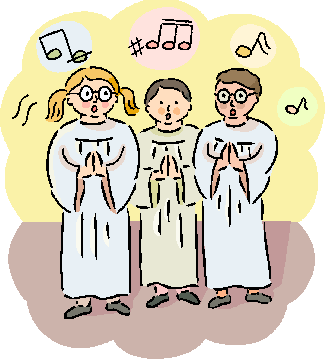 Choir clipart 2