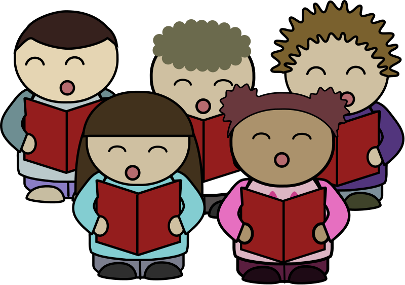 Church choir clip art 2