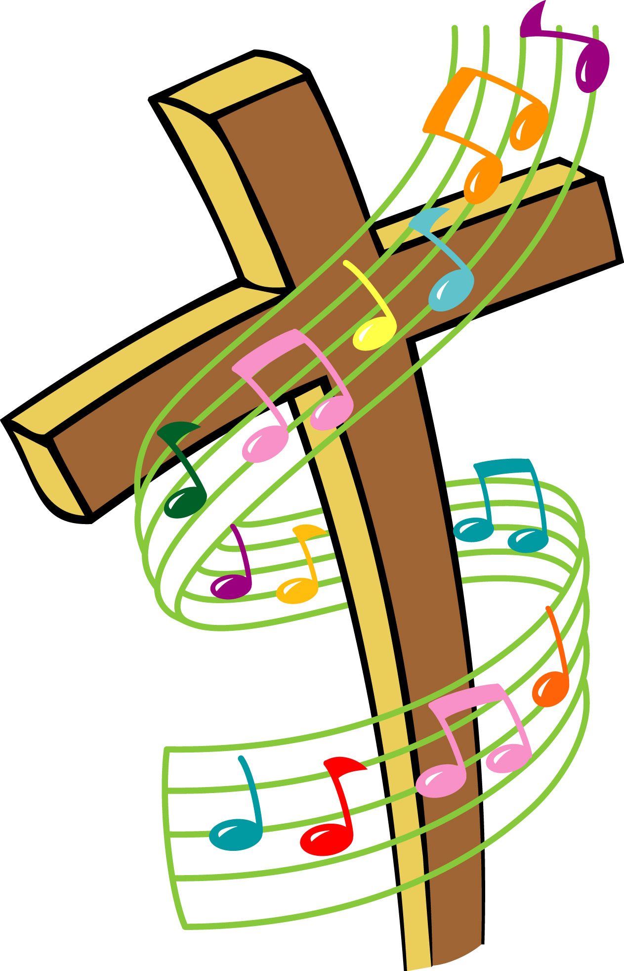Church choir clip art 7