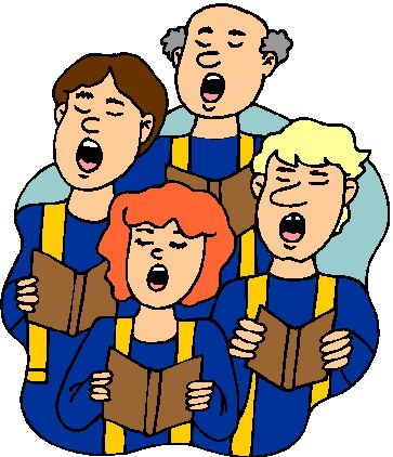 Church choir clipart clipartix