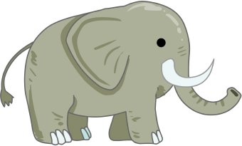 Cute baby elephant clip art page 3 cute cartoon 2