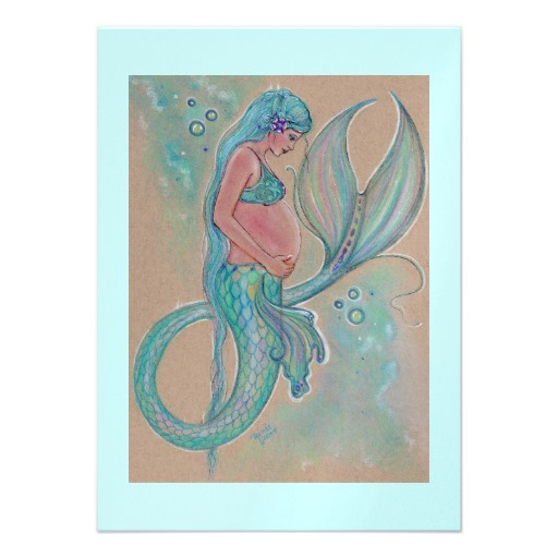 Excellent baby clip art little mermaid for cool