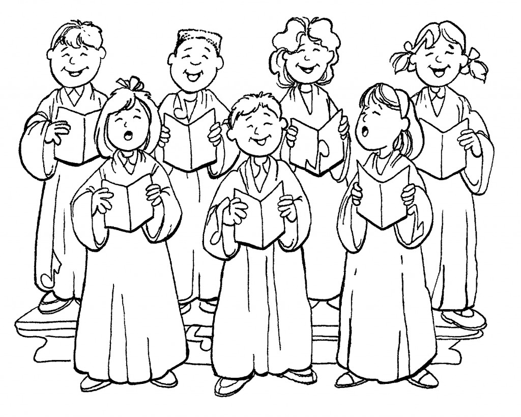 Free choir clipart the cliparts 2