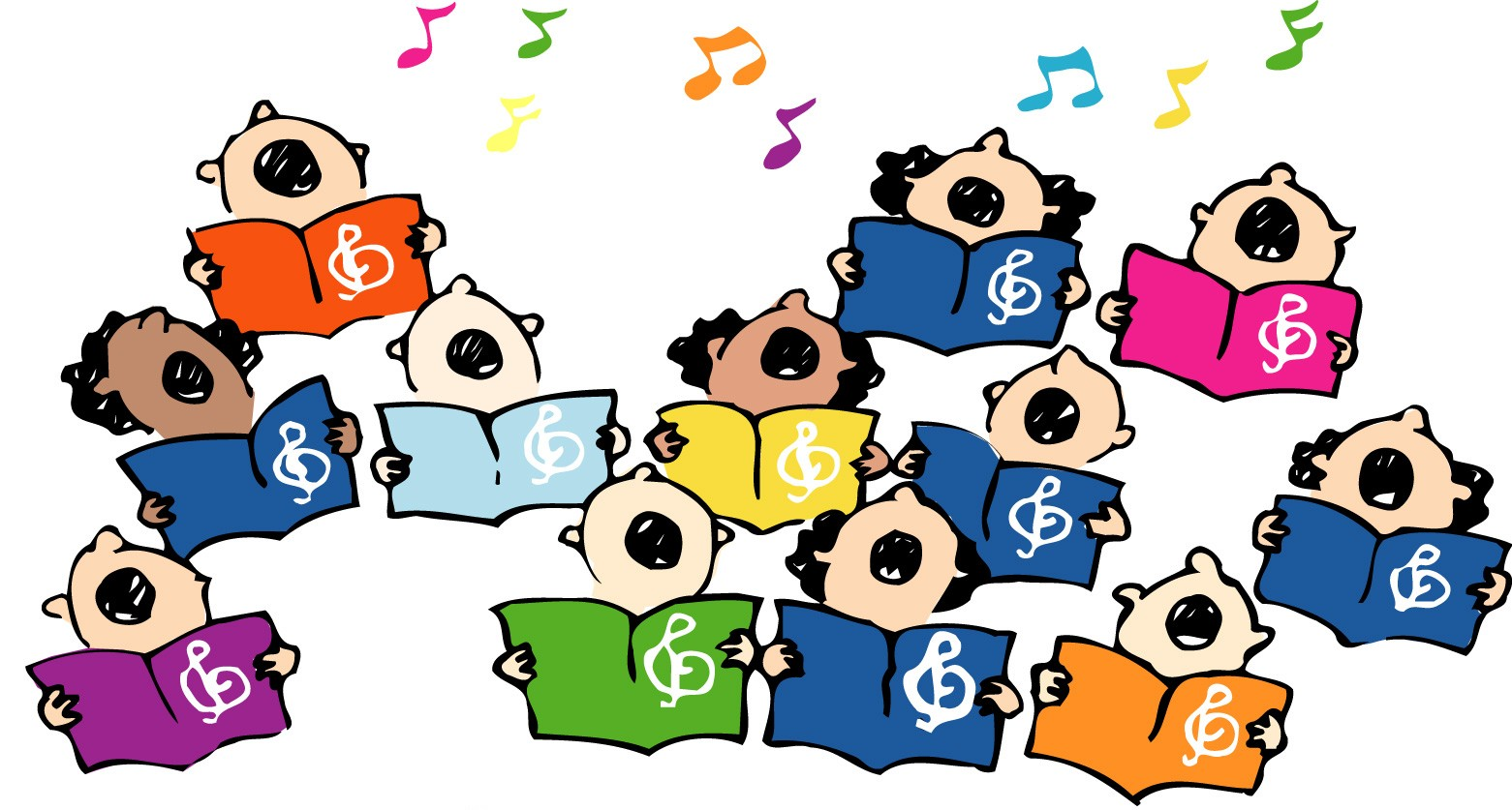 Free choir clipart the cliparts