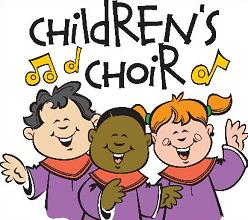 Free church choir clipart