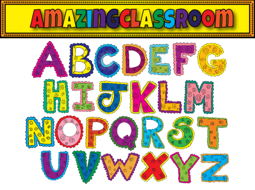 image regarding Free Printable Clip Art Letters titled Absolutely free printable alphabet clipart - Clipartix