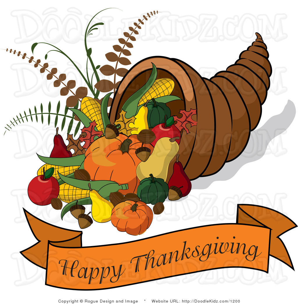 Happy thanksgiving clipart kid
