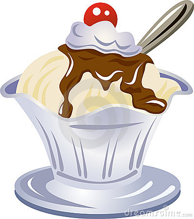 Ice cream sundae clipart 3