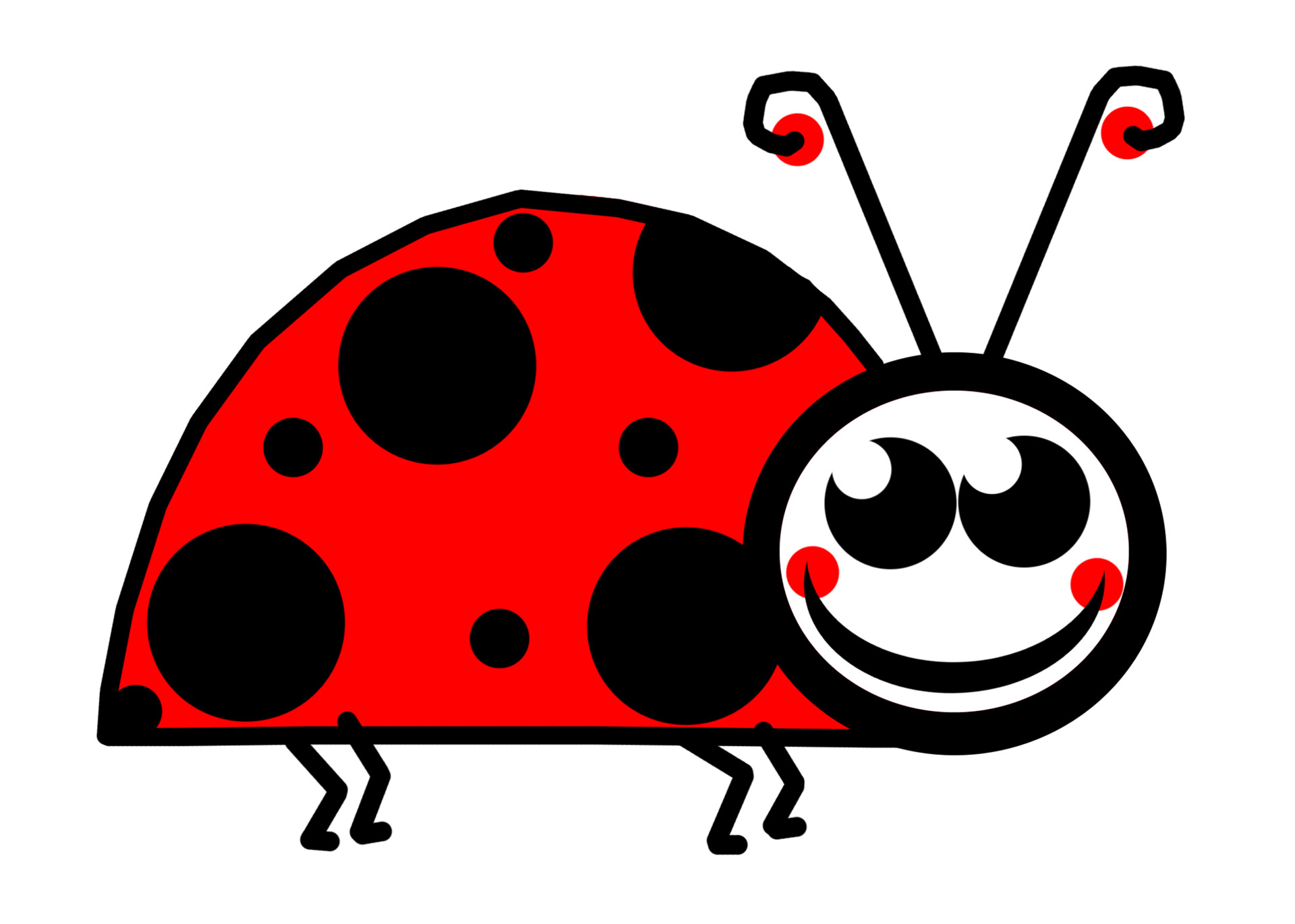 Insect lady bug clip art free stock photo public domain pictures