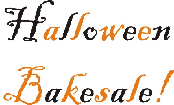 Make meme with halloween bake sale clipart