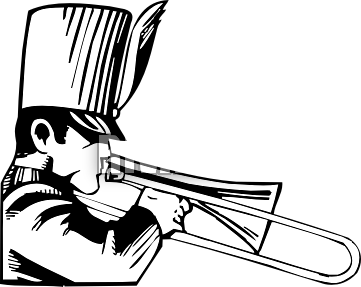 Marching band clipart hostted