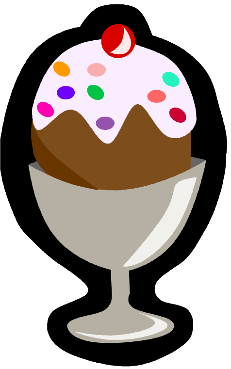 Microsoft clip art of an ice cream sundae clipart