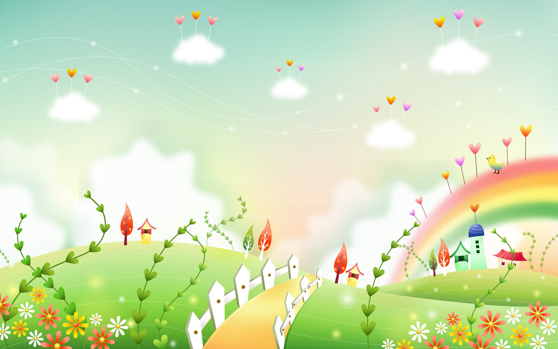 Nature clipart wallpaper