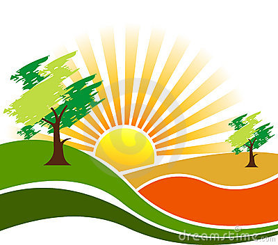 Nature scenes clipart kid
