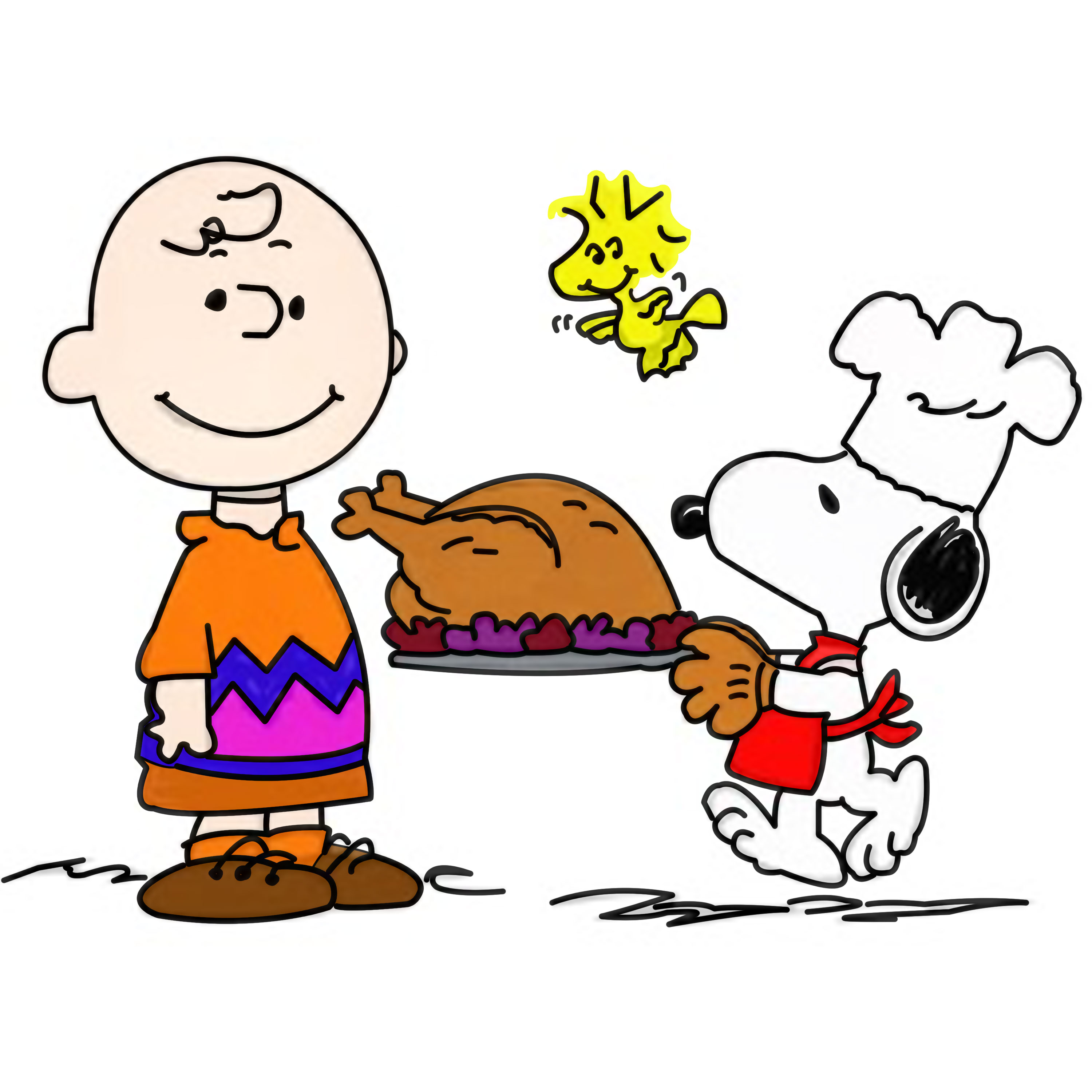 Peanuts thanksgiving clipart