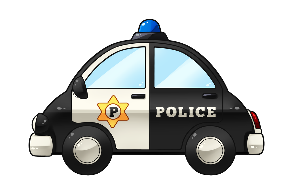 Police car free to use cliparts